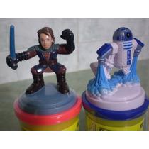 Star Wars! Anakyn Y R2d2!!! Lote Masa Modeladora Play-doh!