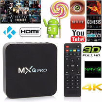 Android Tv Box Mxqpro Android 5.1 4k Wifi Kodi Netflix 2016
