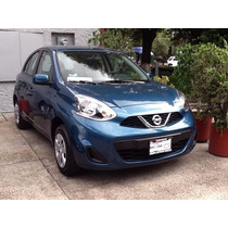 Nissan March Ultimos 2016 24 Meses, Int Del 5% Y Eng 25%