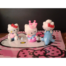 Fiesta De Hello Kitty, Figuras Para Pastel