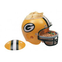 Casco Nfl Green Bay Packers Botanero Cervecero Op4