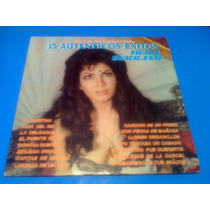 Disco Lp Irma Serrano La Tigresa 15 Autenticos Exitos