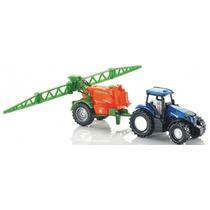 Siku Tractor Con Sembrador 1/72 Diecast / No Hotwheels