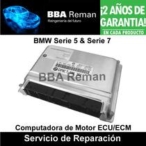 Bmw Serie 5 7 1999 2002 Modulo Ecm Ecu Pcm Dme Reparacion