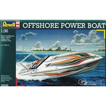 Barco Revell Lancha Offshore 1/36 Armar / Tamiya