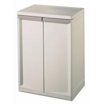 Sterilite 01408501 2-shelf Base Gabinete Con Masilla Tirador