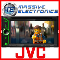 Pantalla 6.1 Doble Din Jvc Kw-v20bt Touch Bluetooth Dvd 2014