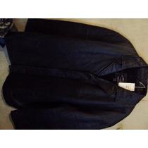 Chamarra De Piel Polo Leather 100% Original. Talla L