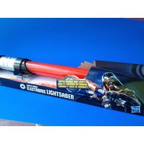 Star Wars Espadas Láser Con Luz Y Sonido Op4