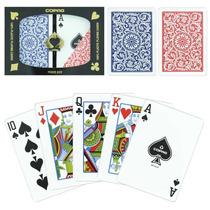 Set De 2 Mazos De Cartas Pro Copag 1546 Jumbo 100% Plastico