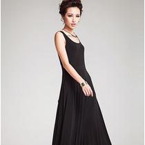 Vestido Largo De Fiesta Elegante Moda Japonesa Envío Gratis