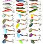 Señuelo Pesca Cuchara Diferentes Acciones Pesca En Mar Y Rio