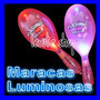 10 Maracas Luminosas Fiesta Eventos Batucada Led Neon Party