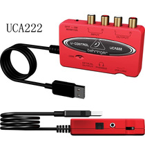 Behringer U-control Uca-222 Interface De Audio Usb Para Dj