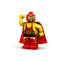 Lego Movie Wrestler El Macho Luchador Legobricksrfun