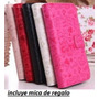 Alcatel M Pop 5020 Cartera Fashion Piel + 1 Mica