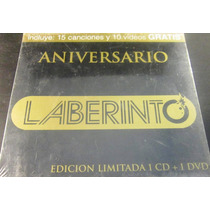 Laberinto - Aniversario Edición Limitada Cd/dvd Nuevo Cerrad