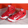 Excelentes Spikes Beisbol Nike Huarache Camo Pro Mid Rojo
