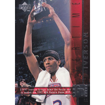 1997-98 Upper Deck Game Dated Overtime Allen Iverson Sixers