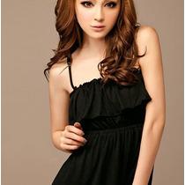 Vestido Casual Largo Elegante, Estilo Japonés 529
