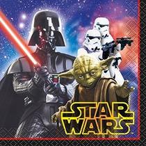 Star Wars Bebidas Servilletas [16 Por Paquete]