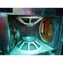 Bafles Tipo Electro Voice Mt4- Sin Bocinas Solo Bafle- Mma