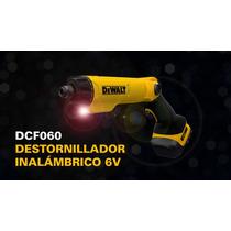 Dewalt® Desarmador Inalambrico 6v Con Kit De Accesorios