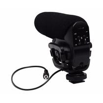 Microfono Profesional Para Todo Tipo De Camara C/soporte