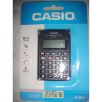 Calculadora Casio Electronica De Bolsillo Hl-4a-s 8 Digitos