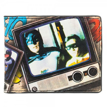 Cartera Batman 66 Vintage Original Bioworld Robin