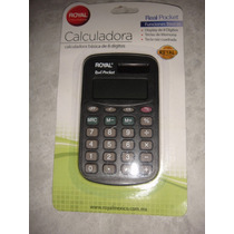 Calculadora Bolsillo Royal 8 Digitos