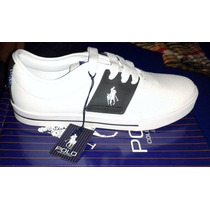 Tenis Polo Houston Hpc Blancos Envio Gratis