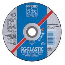 Disco De Desbaste Sg-elastic Inox 7 7/8 1/4 30 Fandeli