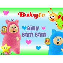 Kit Imprimible Billy Bam Bam Babytv Diseñá Tarjetas Cumples