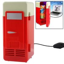 Mini Refrigerador/calentador Usb Espacio Para Una Lata 355ml