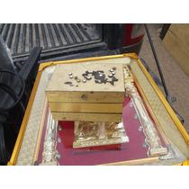 Alajero Metalico Antiguo, No Beliz Maleta Caja Petaca Baul