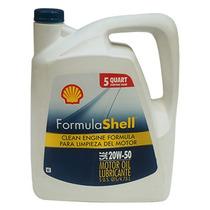 Aceite Para Motor A Gasolina Shell 20w50 4.7 Litros.