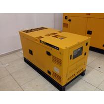 Generador Motor Diesel 10kw 110/220v Silencioso!! Trifasico
