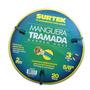 Manguera Tramada Verde 5/8 Con Conector Metálico 20mts Mn4