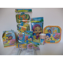 Bubble Guppies Fiestas Platos Invitaciones Letrero Dulceros