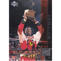 1997-98 Upper Deck Game Dated Dikembe Mutombo Hawks