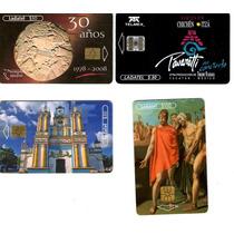 Paquete De Tarjetas Telefonicas De Colección Telmex