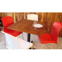 Mesas Cafeteria Resturante, Barras Mobiliario Cafeterias