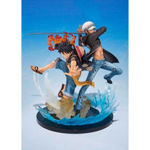 One Piece Luffy Y Trafalgar Figuarts Zero Bandai Don Galle