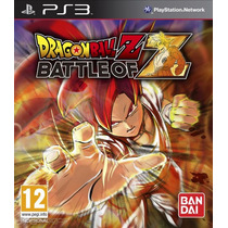 Dragon Ball Z Battle Of Z Ps3 Pakogames