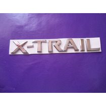 Emblema X-trail Nissan Camioneta