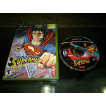 Superman The Man Of Steel Para Xbox Normal,excelente Titulo.