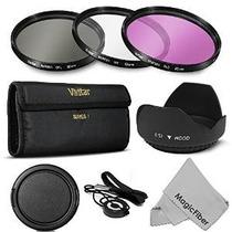 52mm Profesional Filter Kit De Accesorios Para Nikon D7000 D