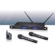 Sistema Inal. Doble Audio-technica Aew-5233 Ad Condensador
