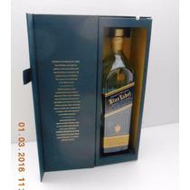 Johnnie Walker Blue Label Botella Vacia C/estuche 003